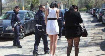 Teen girls in Romania