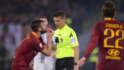 var controversy at roma ronaldo hits tenth in juve stroll
